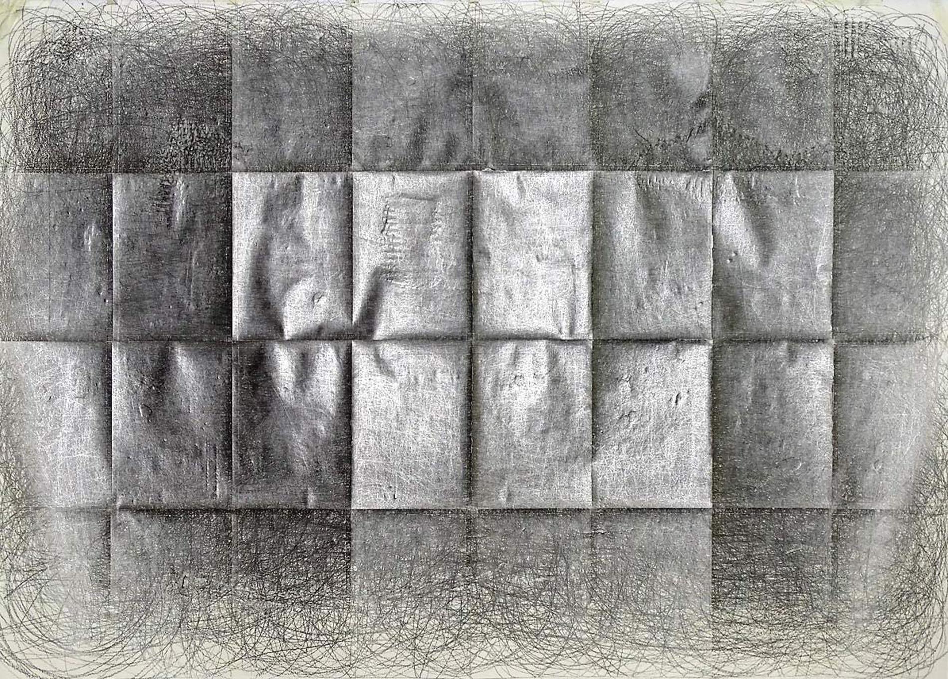 Drawing to music, Johann Sebastian Bach, Graphite on paper Papier