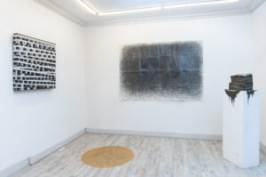 Zeitgenössische Kunst sitespecific work drawing