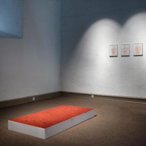 Zeitgenössische Kunst Pigmente Eisenoxid