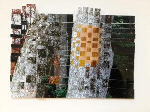 Flechtwerk, Fotografie bearbeitet, Sommer und Herbst