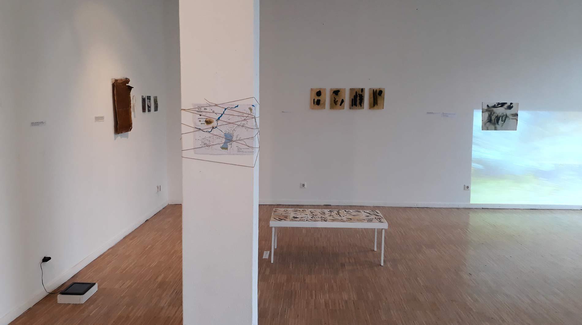 Ausstellung Exhibition Lines Gedok Galerie Stuttgart