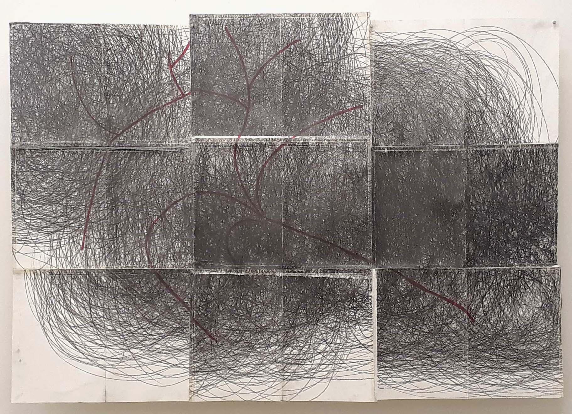 Zeichnung zu Musik, Rhythmus Linie